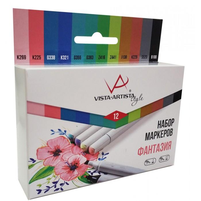 Купить Канцелярия, Vista-Artista Набор маркеров Style SMA-12 Фантазия 0.7- 7 мм 12 цветов