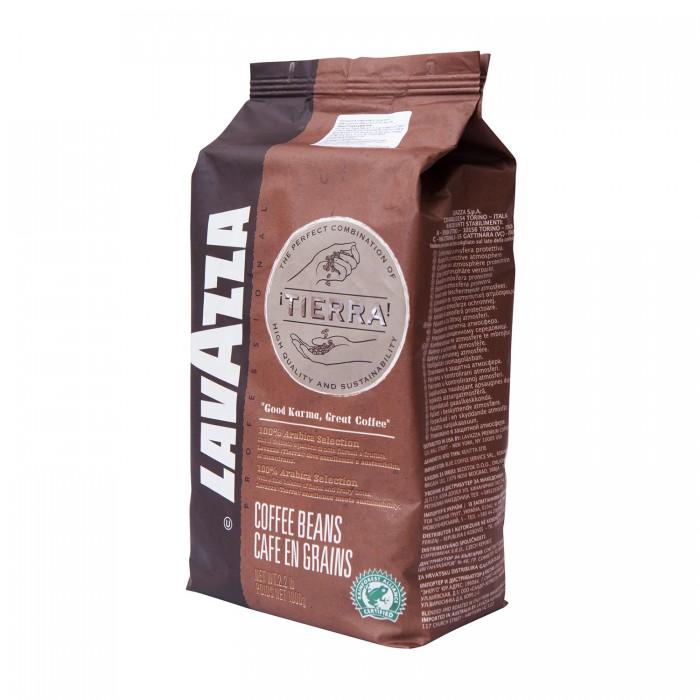 Lavazza Кофе Tierra зерно 1 кг