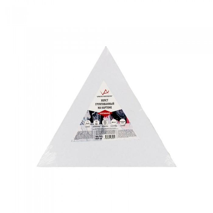 vista artista холст грунтованный cpg 4050 Принадлежности для рисования Vista-Artista Холст грунтованный на картоне треугольный 30х26 см
