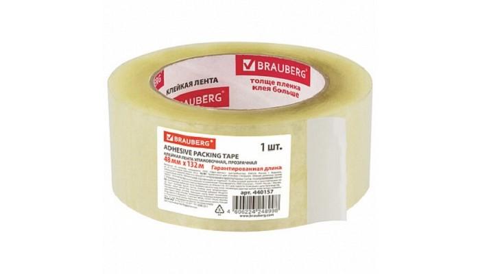 Хозяйственные товары Brauberg Клейкая лента упаковочная 48 мм х 132 м