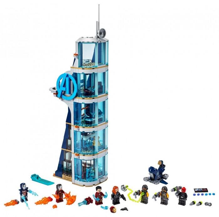Конструктор Lego Super Heroes Marvel 76166 Лего Супер Герои Битва за башню Мстителей
