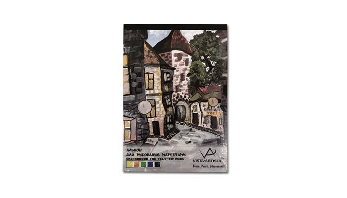 Фото - Принадлежности для рисования Vista-Artista Альбом для рисования маркерами А4 40 листов принадлежности для рисования апплика альбом для рисования на гребне филин а4 20 листов