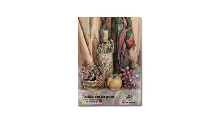 Купить Принадлежности для рисования, Vista-Artista Альбом для акварели 19.5х27 см 20 листов
