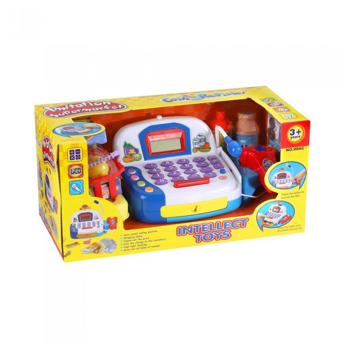 Ролевые игры Джамбо Игровой набор Касса со светом и звуком с аксессуарами JB0204543 недорого