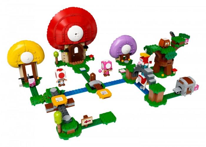 Lego Super Mario 71368 Лего Супер Марио Погоня за сокровищами Тоада Дополнительный набор