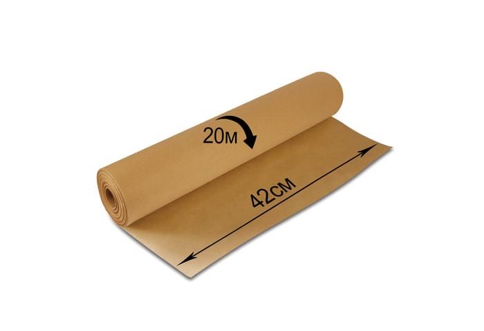 Фото - Канцелярия Brauberg Крафт-бумага в рулоне 420 мм x 20 м бумага для упаковки подарков stillera gkp 01 крафт бумага 03 дамаск