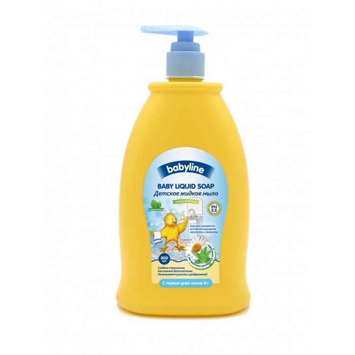 Косметика для новорожденных Babyline Детское жидкое мыло 500 мл babyline детское жидкое мыло 500 мл с дозатором babyline