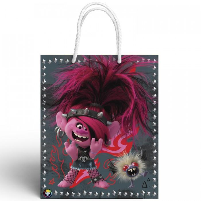 Товары для праздника Nd Play Trolls Пакет подарочный малый-4 товары для праздника nd play пакет подарочный малый batman