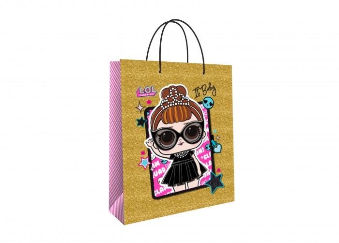 Товары для праздника Nd Play LOL Пакет подарочный малый-4 товары для праздника nd play пакет подарочный малый batman