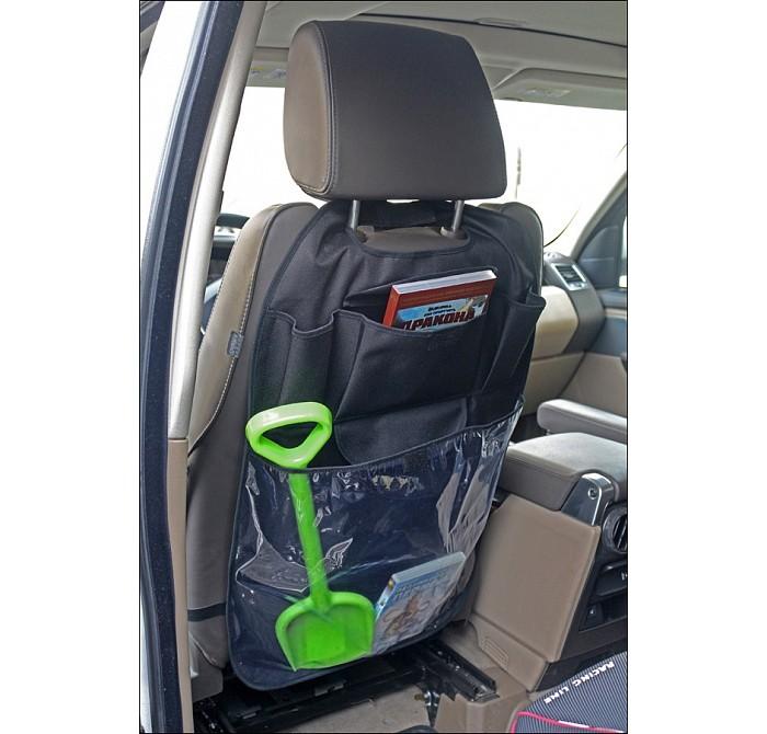 Аксессуары для автомобиля Топотушки Органайзер-защита автосидения аксессуары для автомобиля babyono органайзер для автомобиля
