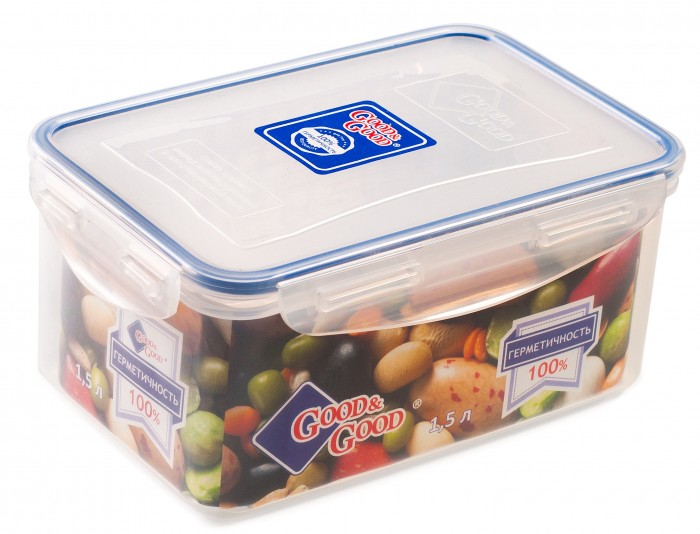 Контейнеры для еды Good Контейнер продуктов 1.5 л