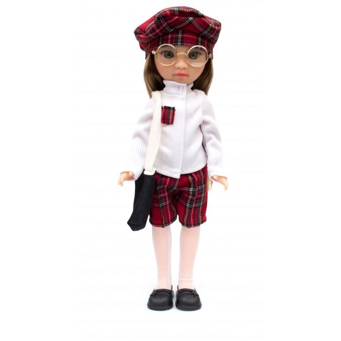 Knopa Кукла Мишель на учебе 36 см