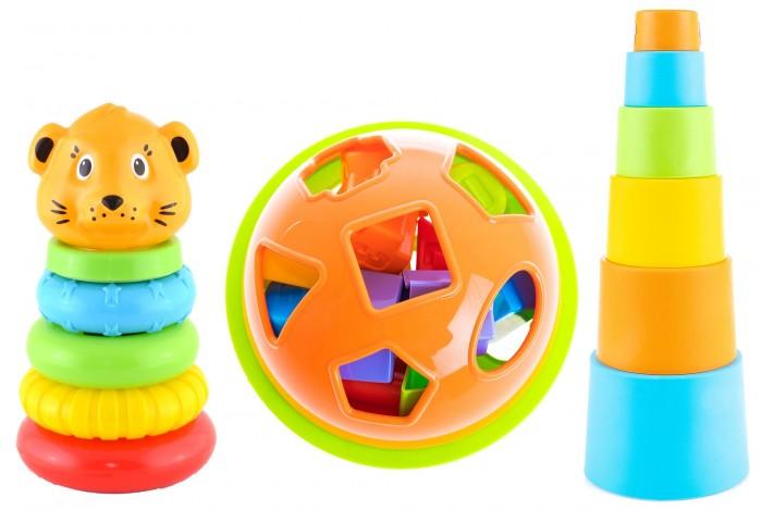 Развивающие игрушки Knopa Набор №3 Пирамидки и сортер