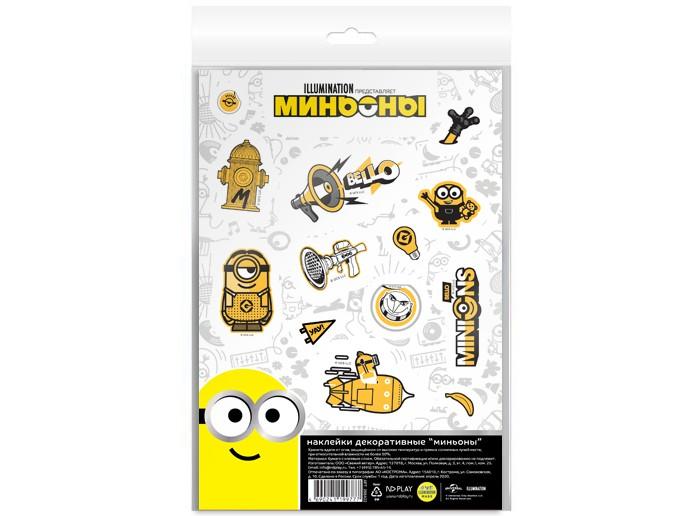 детские наклейки Детские наклейки Nd Play Наклейки декоративные бумажные А5 Миньоны набор №4