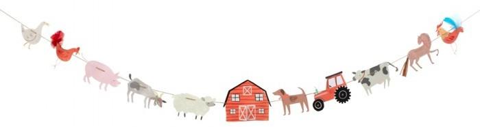 Фото - Товары для праздника MeriMeri Гирлянда Ферма большая товары для праздника merimeri гирлянда кисточки