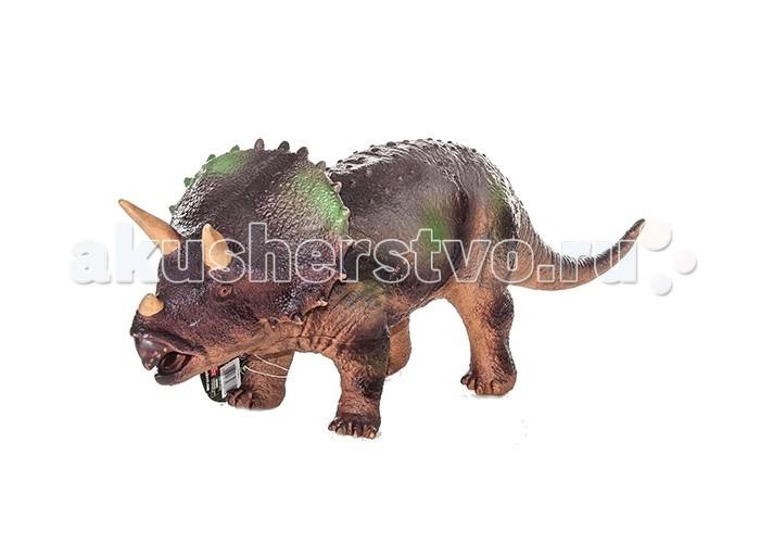 Игровые фигурки Megasaurs (HGL) Фигурка динозавра Трицератопс megasaurs hgl фигурка динозавра мегалозавр