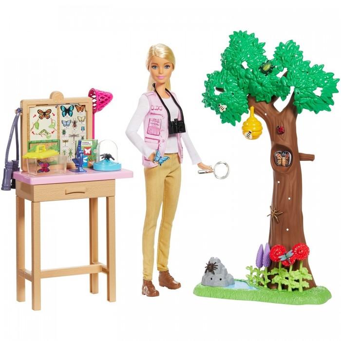 Barbie Набор игровой Кем быть National Geographic Энтомолог
