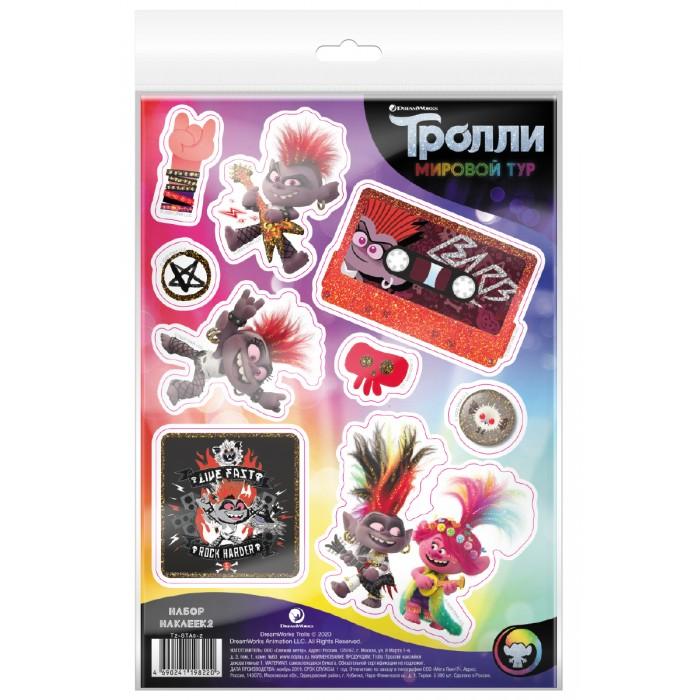 Детские наклейки ND Play Тролли Мировой тур Наклейки декоративные №2