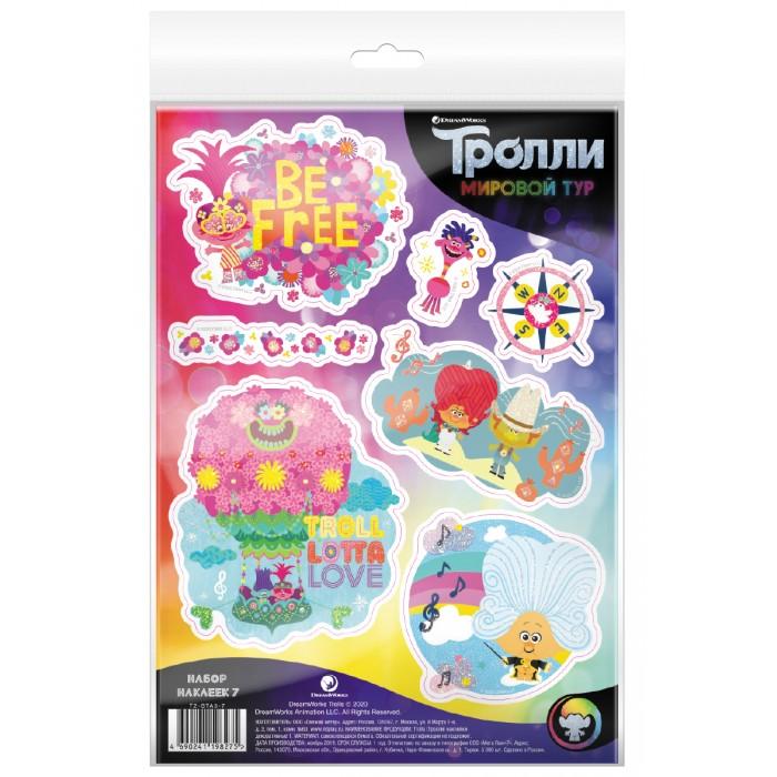 детские наклейки Детские наклейки Nd Play Тролли Мировой тур Наклейки декоративные №7