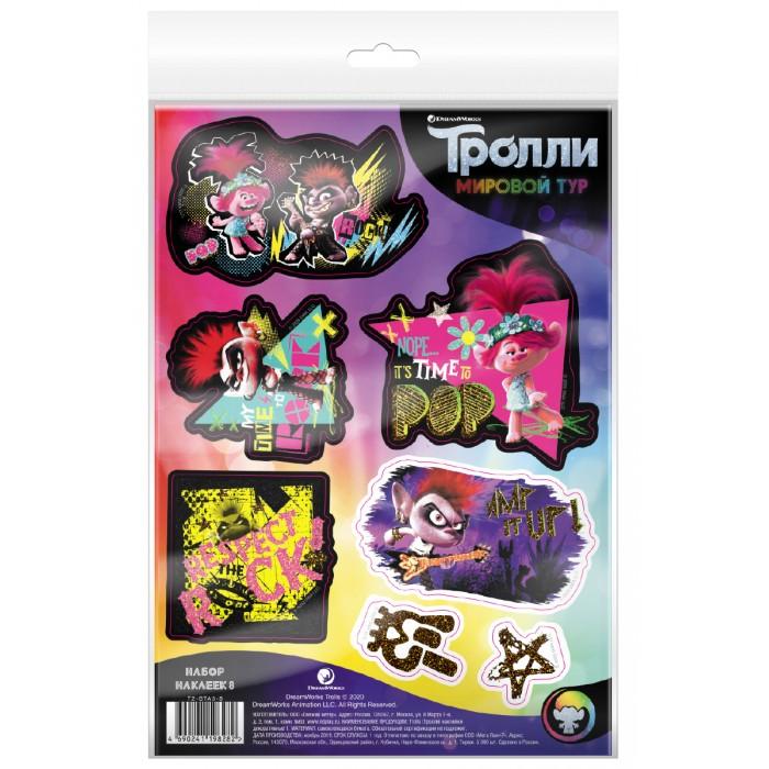 Детские наклейки ND Play Тролли Мировой тур Наклейки декоративные №8