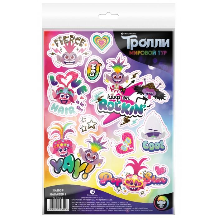Детские наклейки ND Play Тролли Мировой тур Наклейки декоративные №9