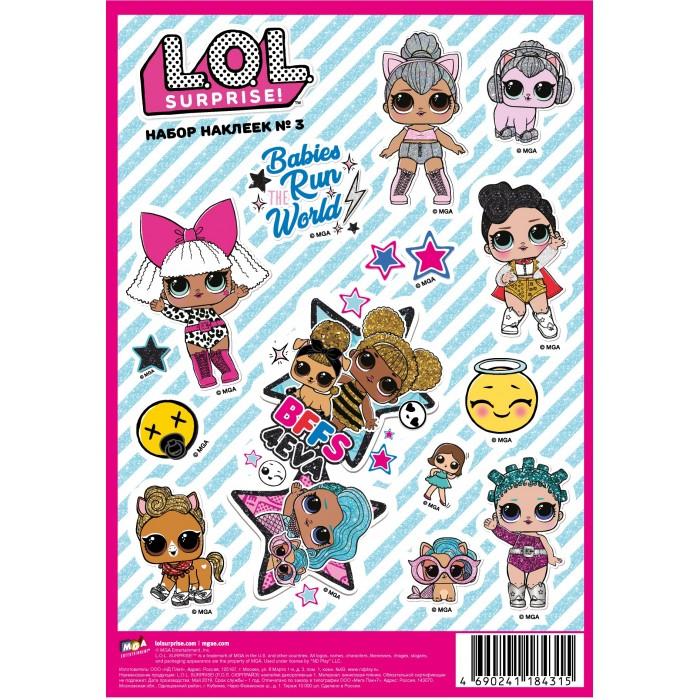 Детские наклейки ND Play L.O.L. Surprise! наклейки декоративные А5 №3 детские наклейки panini блистер lol surprise 3