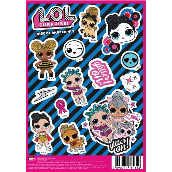 Детские наклейки ND Play L.O.L. Surprise! наклейки декоративные А5 №7 детские наклейки panini блистер lol surprise 3