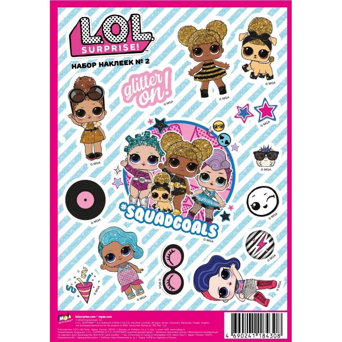 Детские наклейки ND Play L.O.L. Surprise! наклейки декоративные А5 №2 детские наклейки panini блистер lol surprise 3