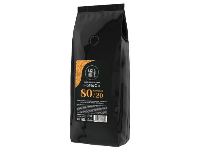 Картинка для Este Arte Кофе Espresso 80% арабика, 20% робуста зерно 1 кг