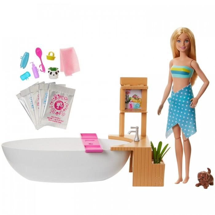 Фото - Куклы и одежда для кукол Barbie Набор игровой Спа-салон набор игровой barbie оздоровительный спа центр gjr84