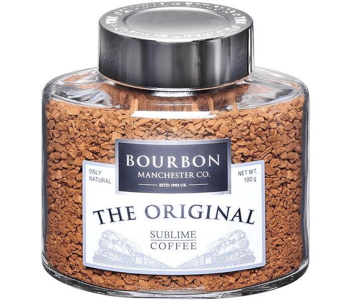 Кофе Bourbon Original растворимый сублимированный 100 г