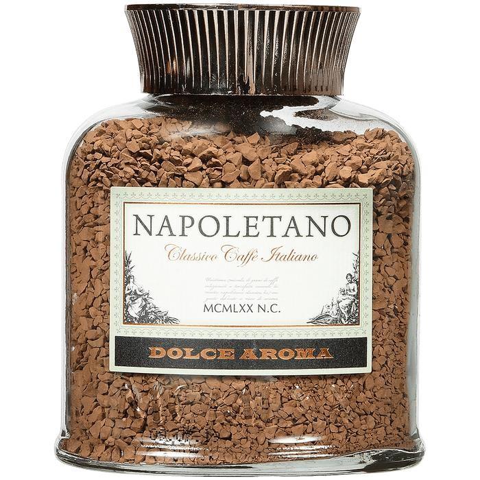 Кофе Napoletano Кофе Dolce Aroma растворимый сублимированный 100 г clipper кофе растворимый арабика органик сублимированный 100 г