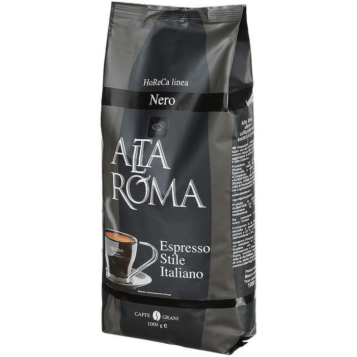 Картинка для Altaroma Кофе зерновой Nero 1 кг