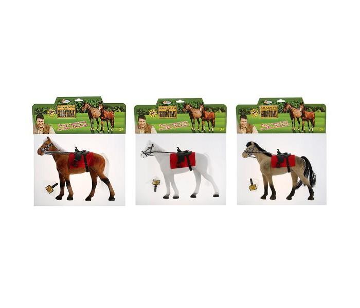 Игровые фигурки Играем вместе Лошадь с аксессуарами 13 см our generation лошадь породы американская чистокровная с аксессуарами