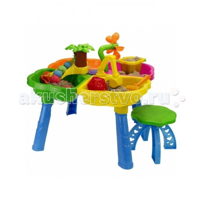 R-Toys Столик-песочница Kinderway Набор