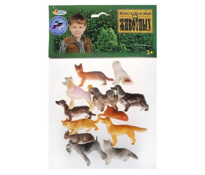 Игровые фигурки Играем вместе Набор из 12-ти домашних животных