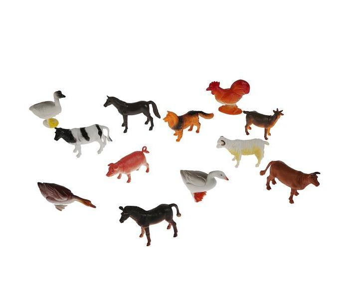 Игровые фигурки Играем вместе Набор из 12-ти домашних животных HA2489