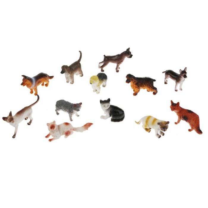 Игровые фигурки Играем вместе Набор из 12-ти домашних животных HA2491