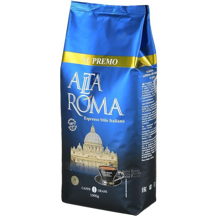Купить Altaroma Кофе зерновой Supremo 1000 г