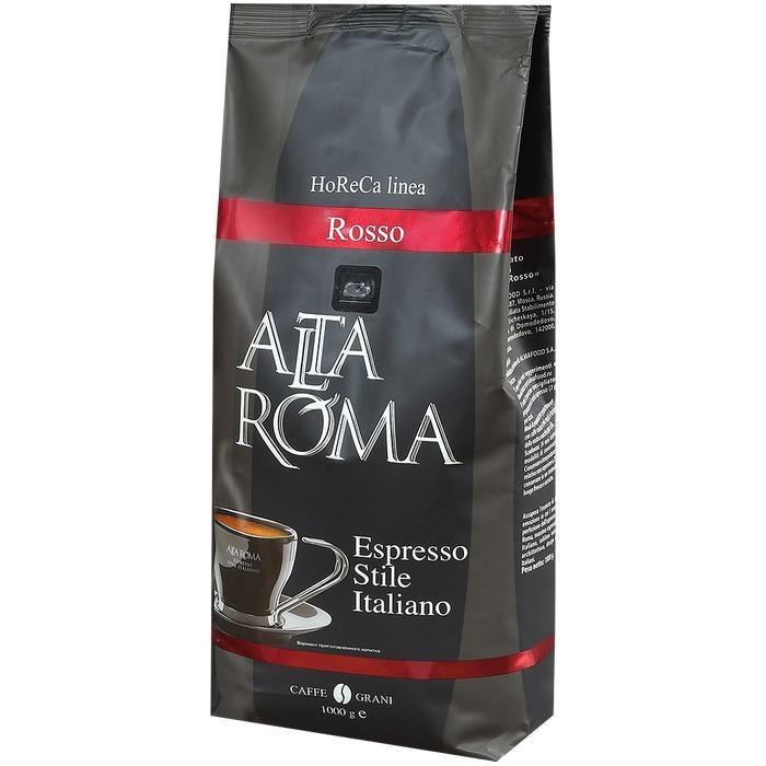 Кофе Altaroma Кофе зерновой Rosso 1 кг кофе зерновой nicola especial