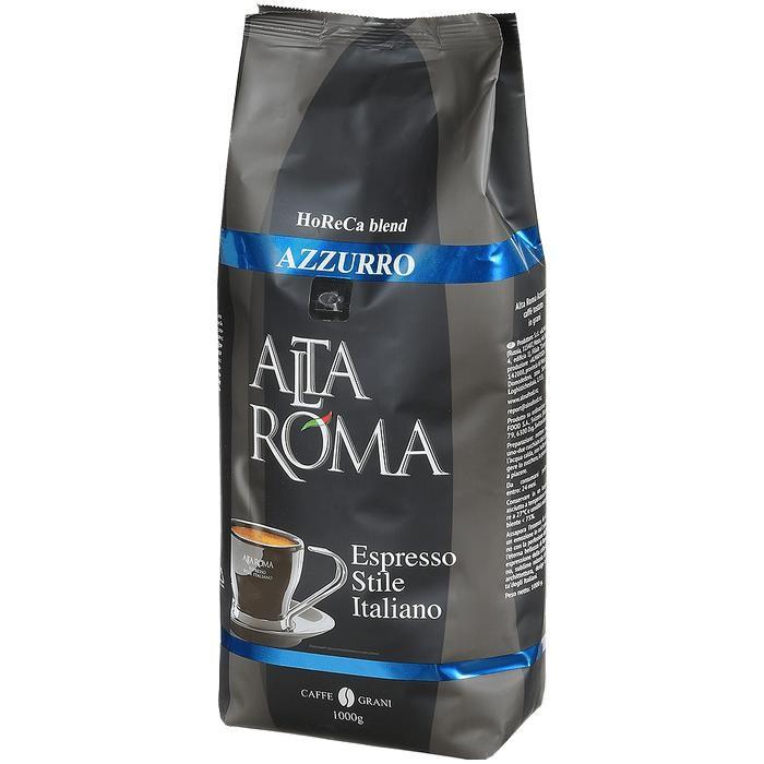 Кофе Altaroma Кофе зерновой Azzurro 1 кг кофе зерновой nicola especial