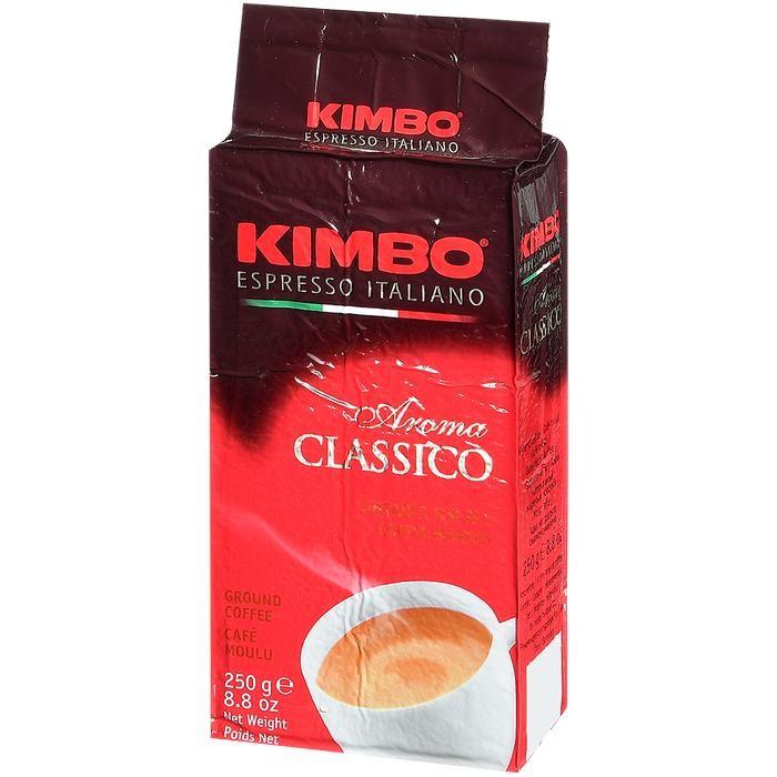 Кофе Kimbo Кофе Aroma Classico натуральный жареный молотый 250 г