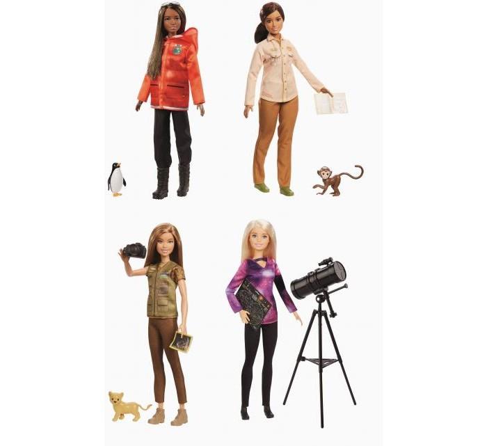 Куклы и одежда для кукол Barbie Кукла Кем быть National Geographic Исследователь