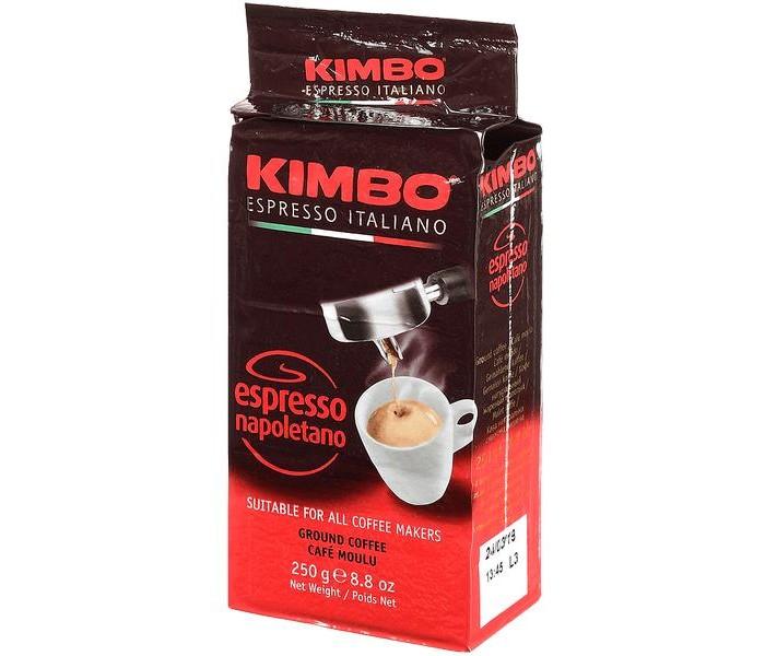 Кофе Kimbo Кофе Espresso Napoletano молотый 250 г кофе молотый kimbo espresso napoletano жестяная банка 250 г