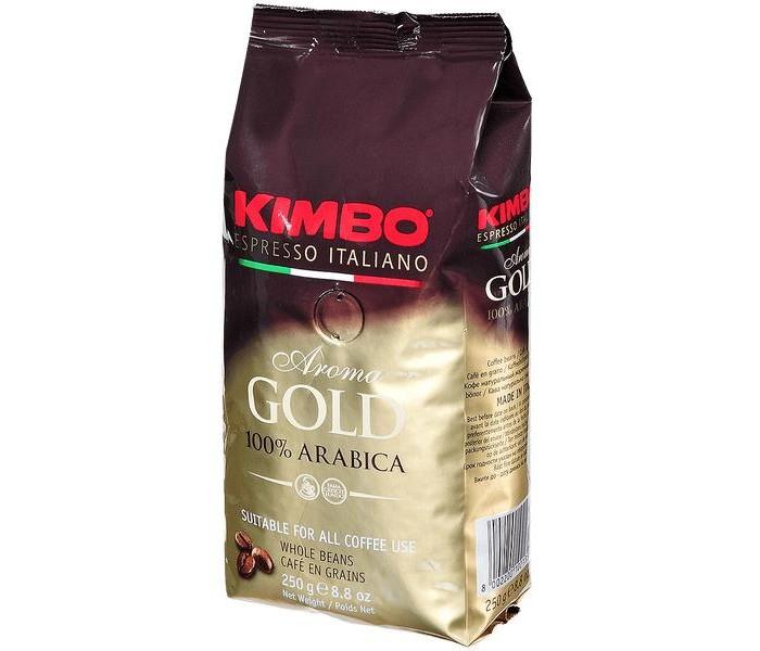 Кофе Kimbo Кофе Gold 100% Arabica зерновой 250 г кофе в зернах kimbo aroma gold 100% arabica 250 г