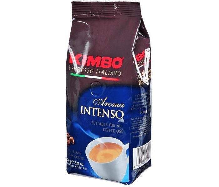 Кофе Kimbo Кофе Aroma Intenso насыщенный зерновой 250 г кофе в зернах kimbo aroma gold 100% arabica 250 г
