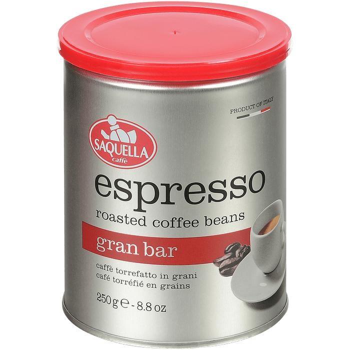 Кофе Saquella в зернах Espresso Gran Bar 250 г