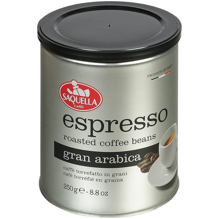 Кофе Saquella Кофе в зернах Espresso Gran Arabica 250 г кофе в зернах hiramur mexico