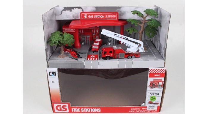 Majorette Парковка полицейская станция «Creatix» + машинка