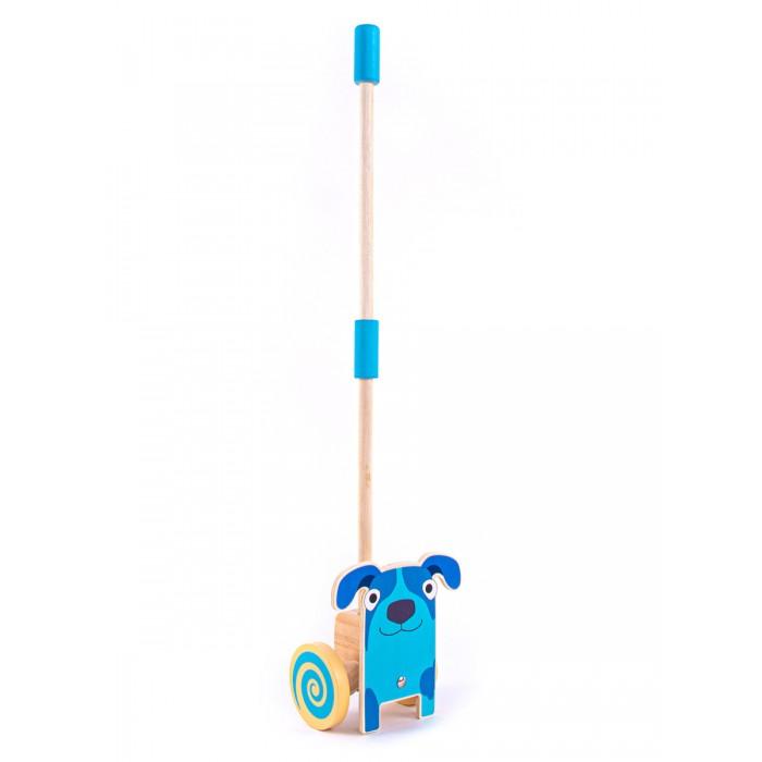 цена на Каталки-игрушки Деревяшки на палочке Собачка Гав-Гав